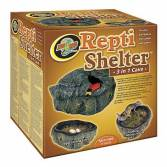 Zoo-Med Repti Shelter 3in1 Cave, Small