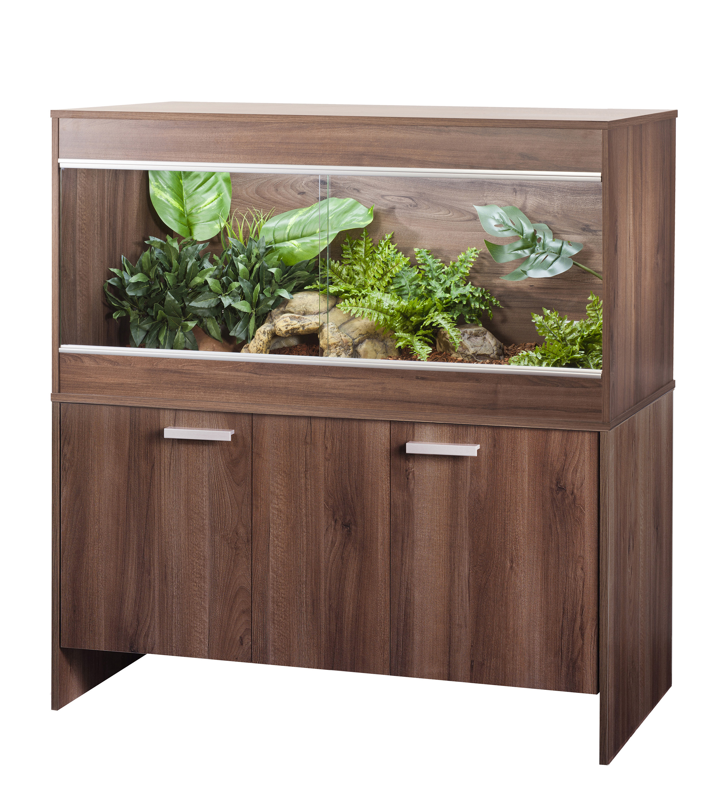 Repti-Home Vivarium & Cabinet - Maxi Large Walnut