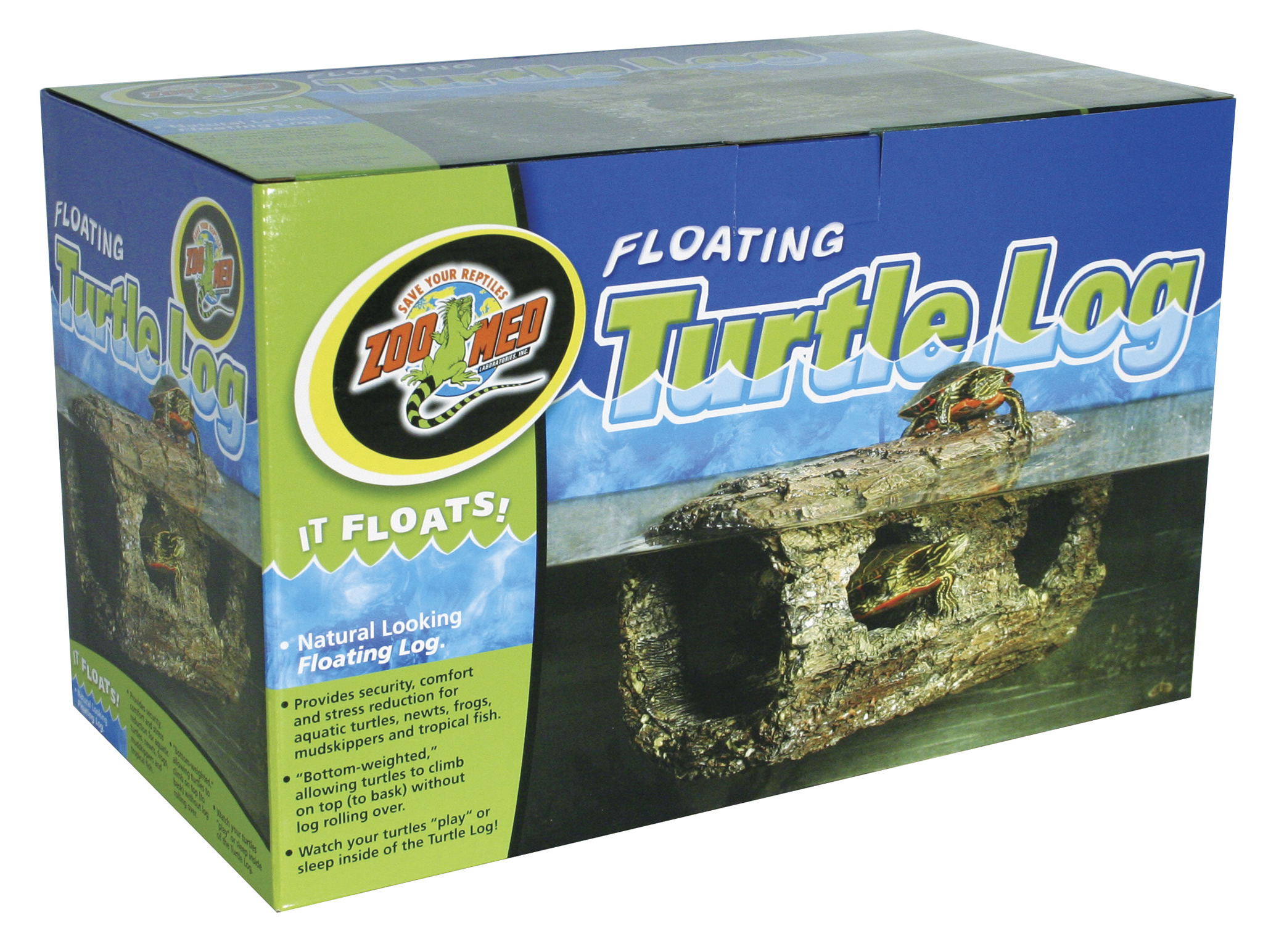 Zoo Med Floating Turtle Log Reptile Centre
