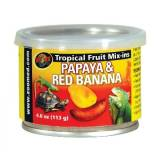 ZooMed Tropical Fruit Mix-in Papaya and Red Banana 113g