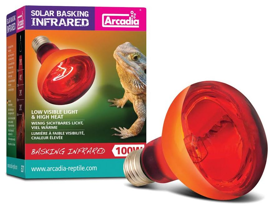 Arcadia Infra Red Lamp 100w Reptile Centre