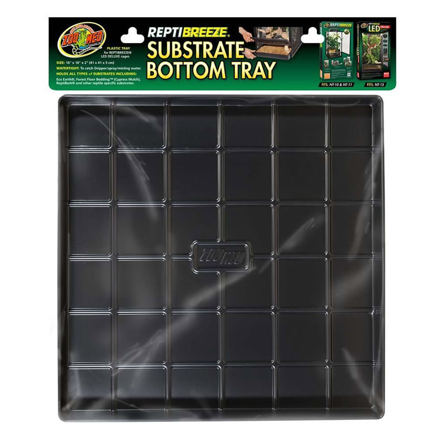 Zoo Med Reptibreeze Substrate Bottom Tray Sml Reptile Centre