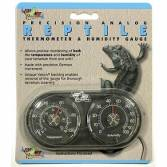 Zoo-Med Analogue Thermometer Humidity Gauge
