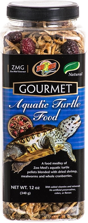 Zoo Med Gourmet Aquatic Turtle Food 340g Reptile Centre
