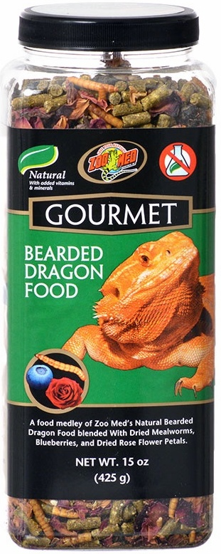 Zoo Med Gourmet Bearded Dragon Food 425g Reptile Centre