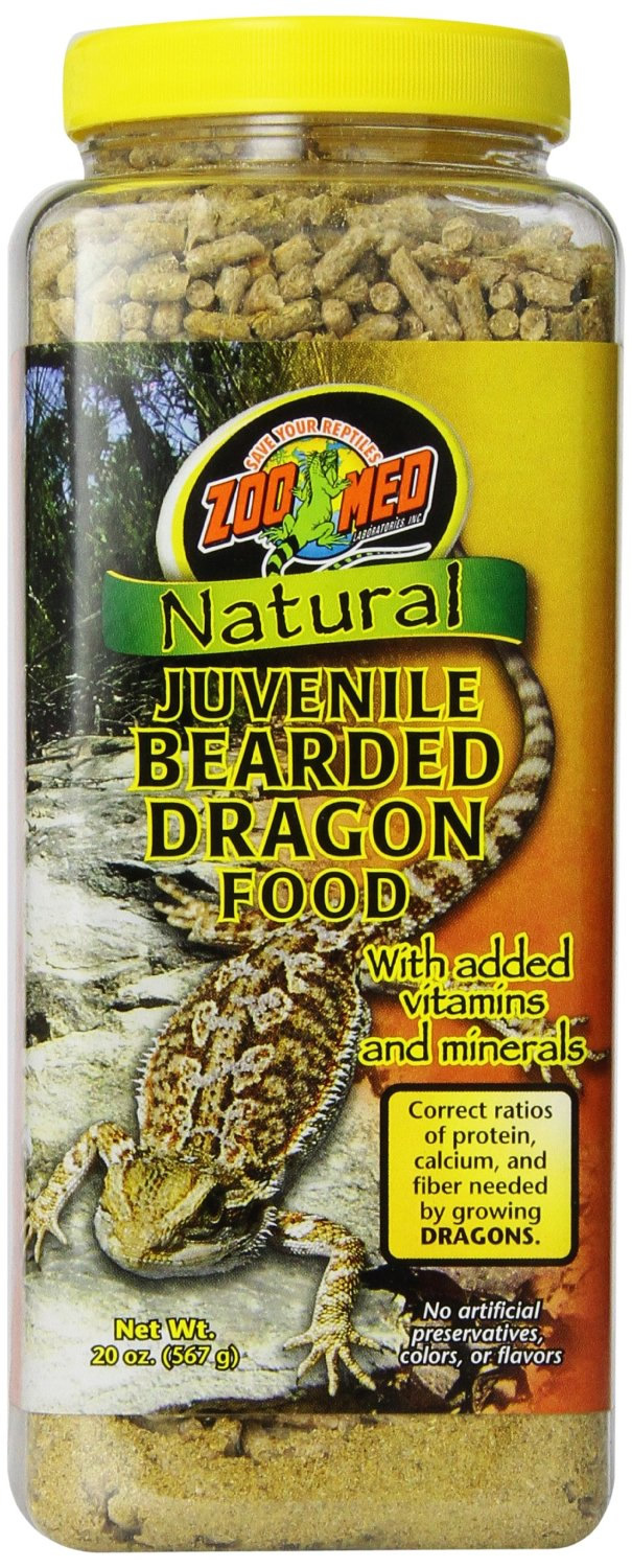 Zoo Med Juvenile Bearded Dragon Food 567g Reptile