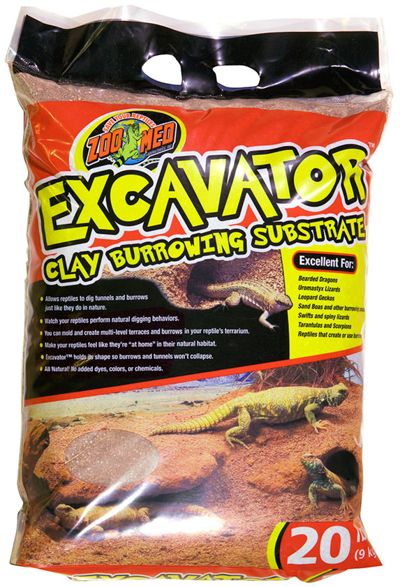 Zoo Med Excavator Clay 9kg Reptile Centre