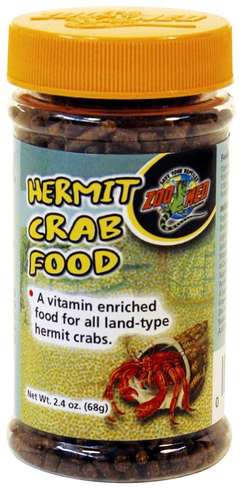 Zoo Med Hermit Crab Food Pellets 68g Reptile Centre