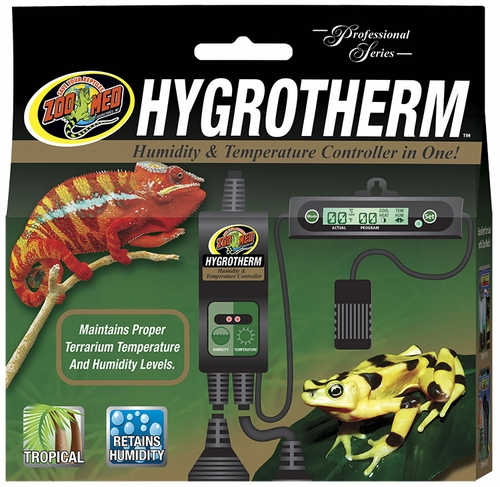 Zoo Med Hygrotherm Humidity Amp Temperature Controller