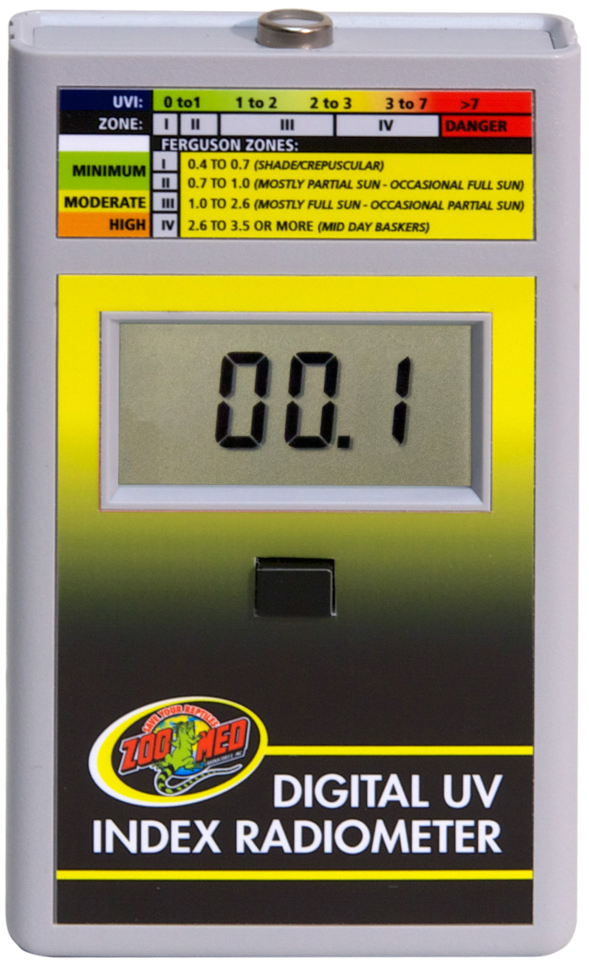 Zoo Med Digital Uv Index Radiometer Reptile