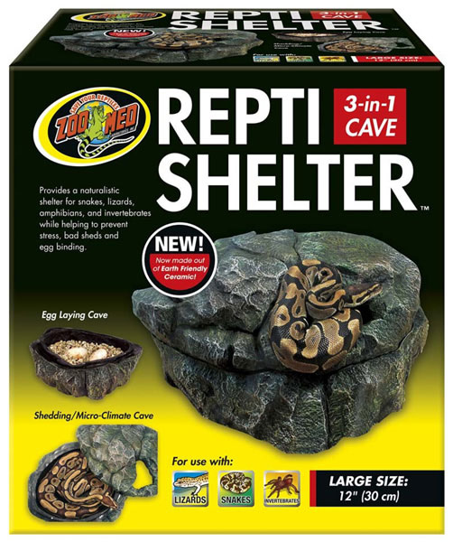 Zoo Med Repti Shelter 3in1 Cave Large Reptile