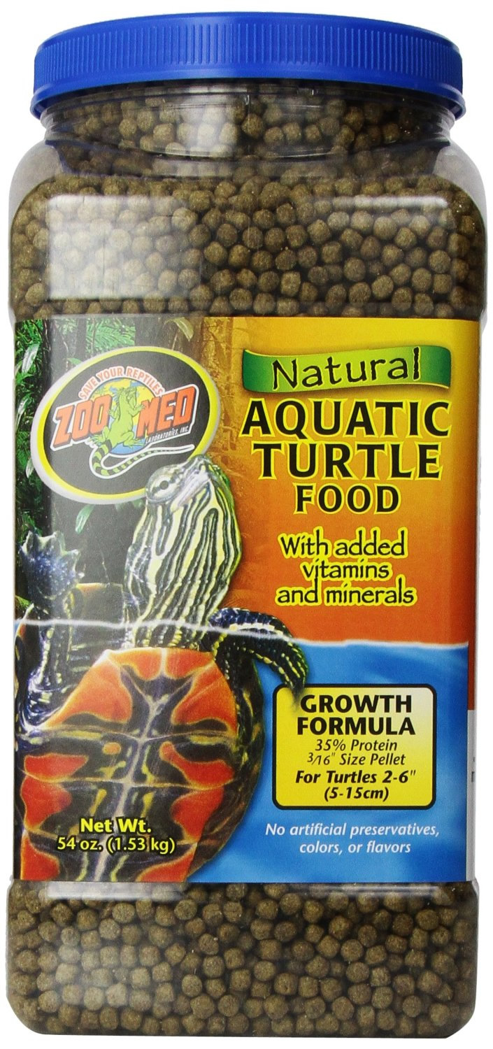 Zoo Med Aquatic Turtle Food Growth 1 53kg Reptile