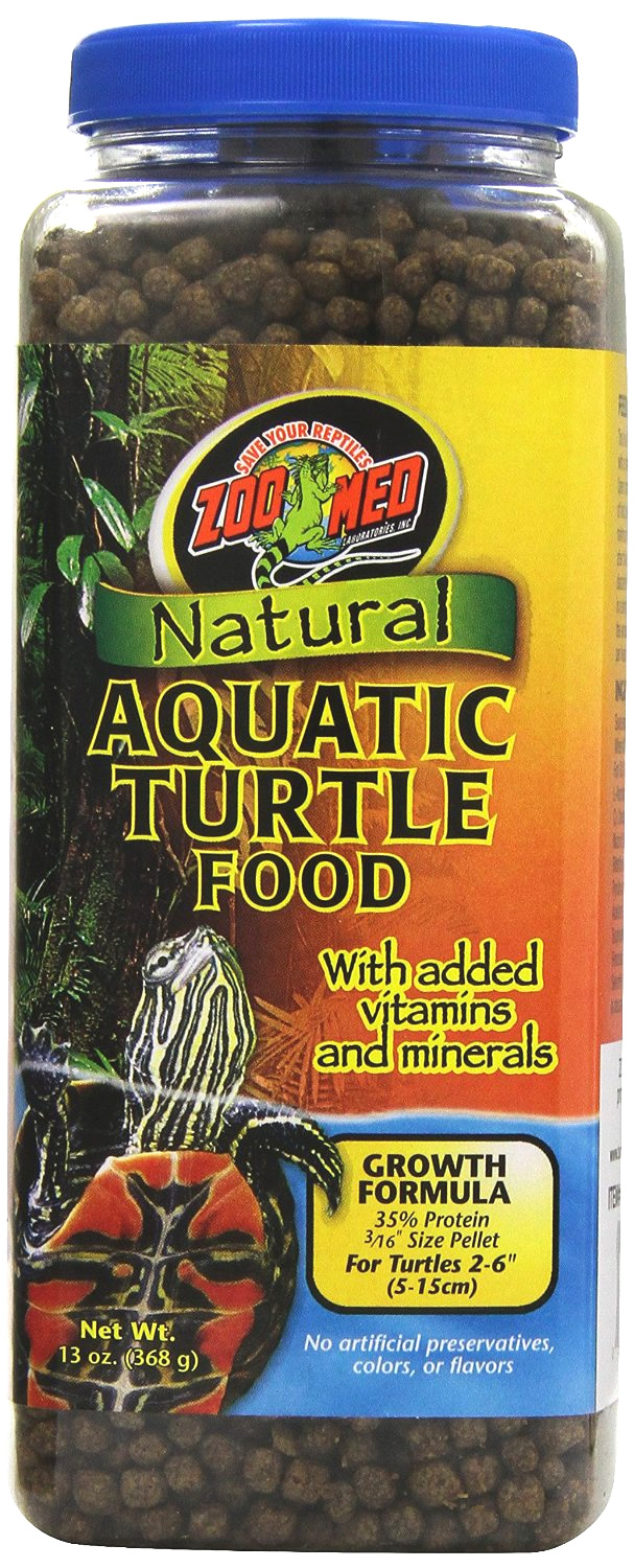 Zoo Med Aquatic Turtle Food Growth 368g Reptile