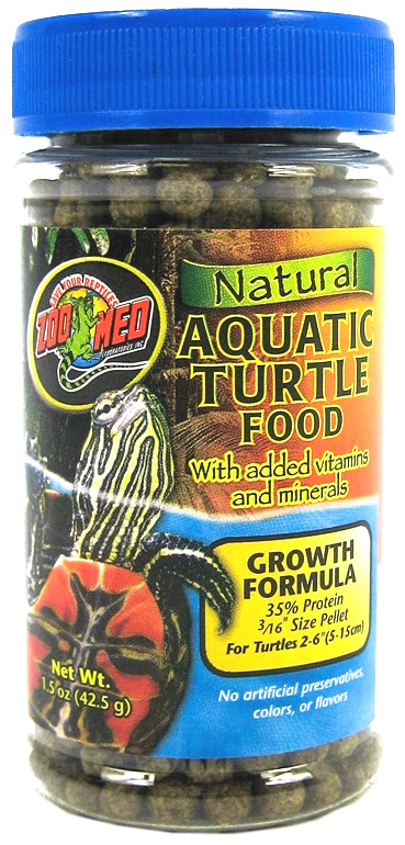 Zoo Med Aquatic Turtle Food Growth 42g Reptile