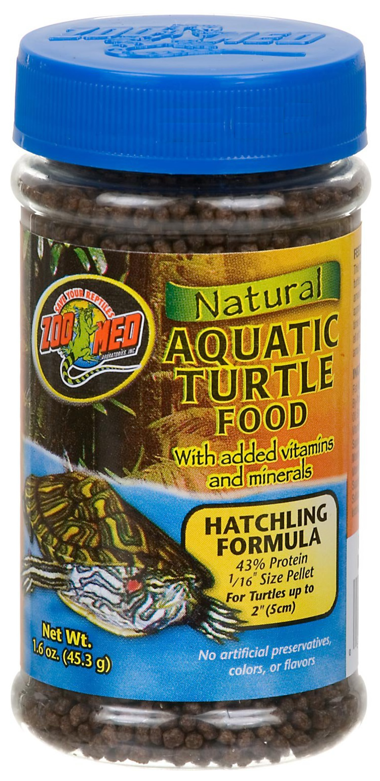 Zoo Med Aquatic Turtle Food Hatchling 45g Reptile