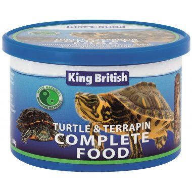 King British Turtle/Terrapin Food 80g Reptile
