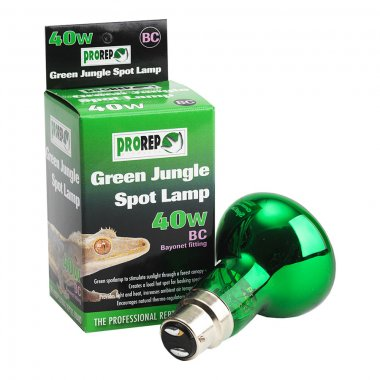 ProRep Green Jungle Spot Bulb 40W BC (Bayonet)