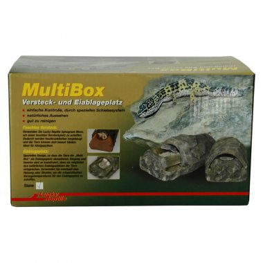 Lucky Reptile Multi Box Stone small