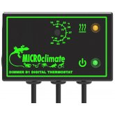 Microclimate Dimmer B1 Thermostat Black 600w