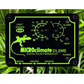Microclimate DL2ME Pulse Night Drop Thermostat with Alarm