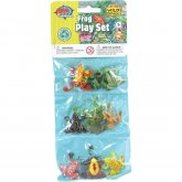 Wild Republic Plastic Toys Playset: Frogs