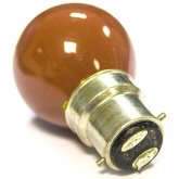 ProRep Red Golfball Bulb 25W BC (Bayonet)