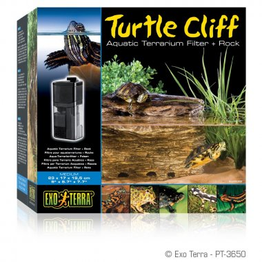 Exo Terra Turtle Cliff Filter Medium