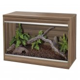 Vivexotic Repti-Home Vivarium - Small Walnut 57.5x37.5x42cm