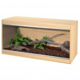 Vivexotic Repti-Home Vivarium - Medium Oak 86x37.5x42cm