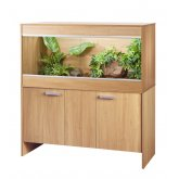 Vivexotic Repti-Home Vivarium & Cabinet - Maxi Large Oak