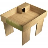 Vivexotic Viva Tortoise Table with Extension & Stands