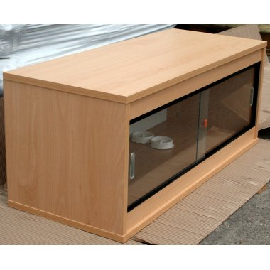 Beech Ready Built Vivarium 18x15x15in