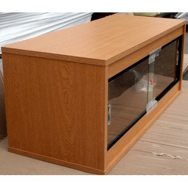 Oak Ready Built Vivarium 36x15x15in