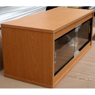 Oak Ready Built Vivarium 36x24x24in