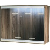 Vivexotic Viva+ Arboreal Vivarium - Large-Deep Walnut 115x61x91.5cm