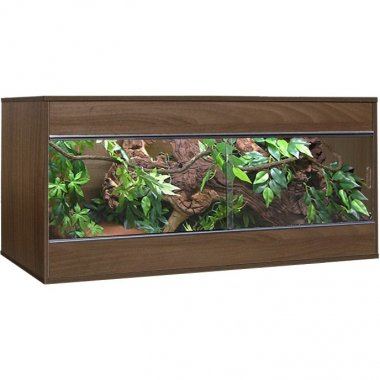 Vivexotic Tobacco Walnut VX48 Vivarium 1220 x  470 x 525mm