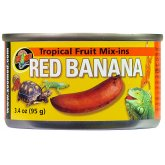Zoo Med Tropical Fruit Mix-in Red Banana 95g
