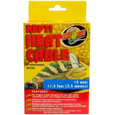 Zoo Med Repti Heat Cable 15W 3.5m