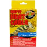 Zoo Med Repti Heat Cable 25W 4.5m