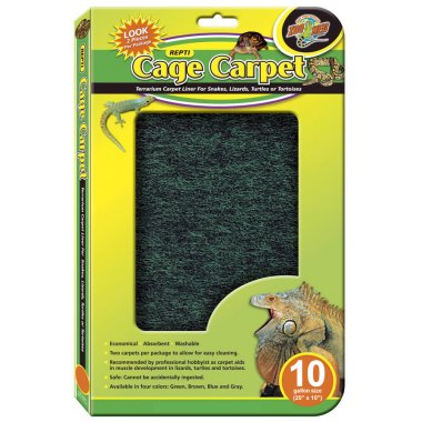 Zoo Med Repti Cage Carpet 10 Gal (20x10in)