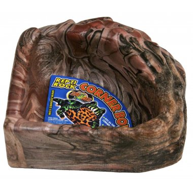 Zoo Med Repti Rock Corner Bowl Small