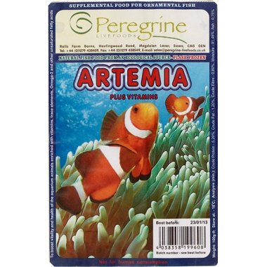 Peregrine Blister Pack Artemia 100g