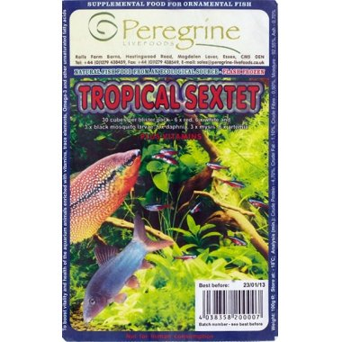 Peregrine Blister Pack Tropical Sextet 100g