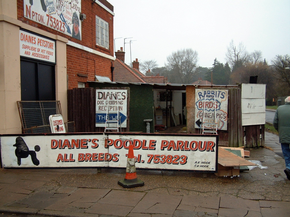 The poodle parlour on the side