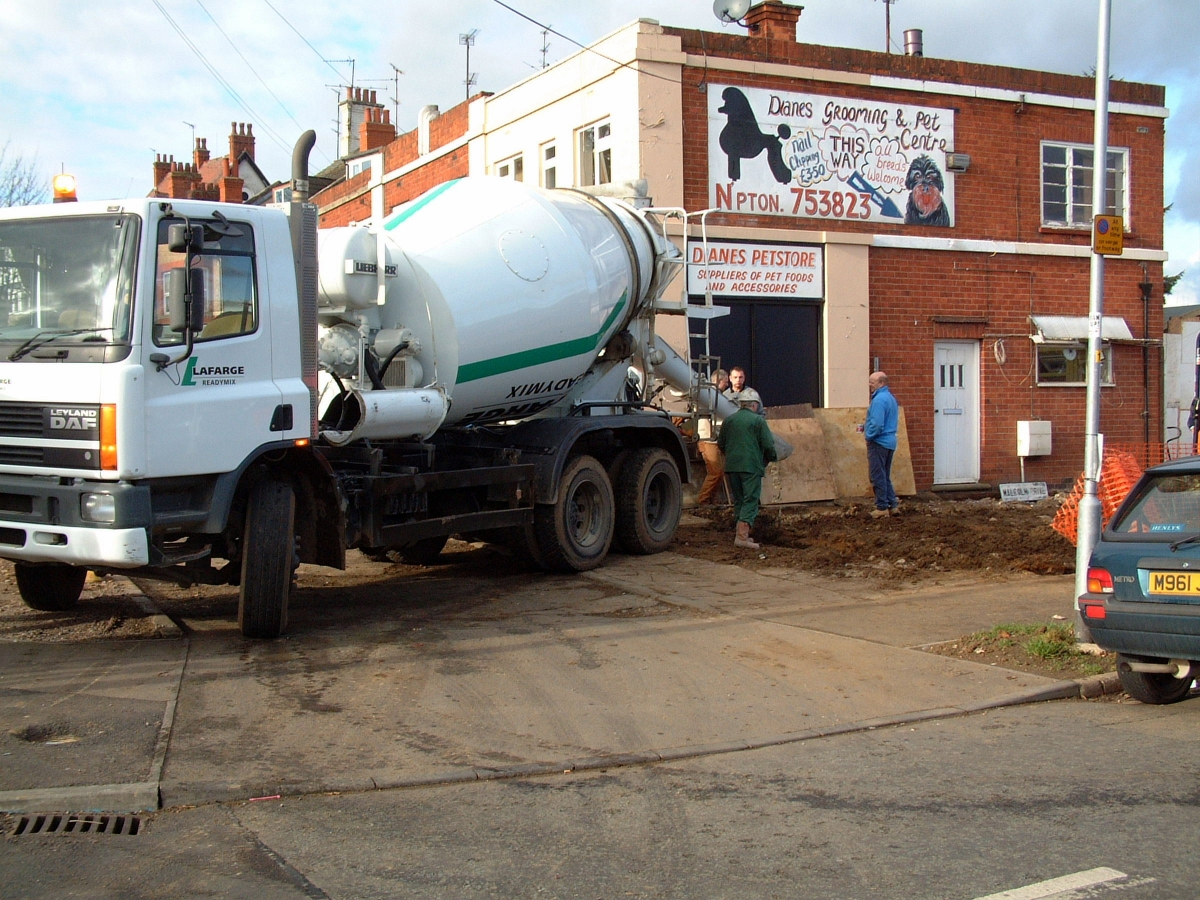 Laying foundations to the new Northampton Reptile Centre
