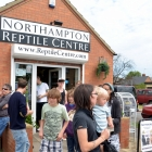 Tim Outside Northampton Reptile Centre on an open day