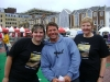 Sam Shapter, Steve Backshall and Sally Shapter