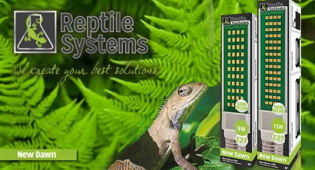 Reptile Systems New Dawn Compact LED Bulbs