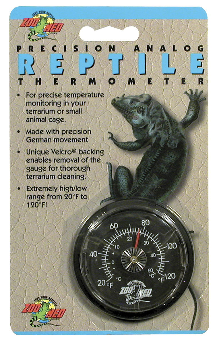 Zoo Med Analogue Reptile Thermometer Reptile