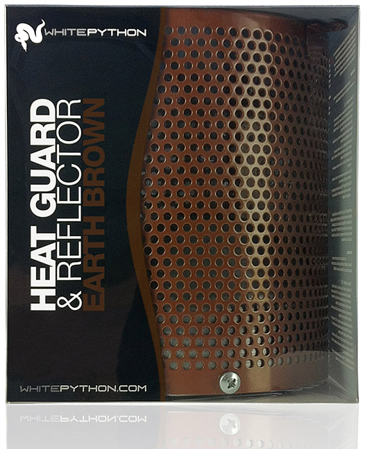 White Python Heat Guard Amp Reflector Earth Brown